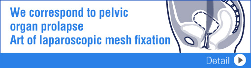 Skill in laparoscopic mesh fixation for pelvic organ prolapse