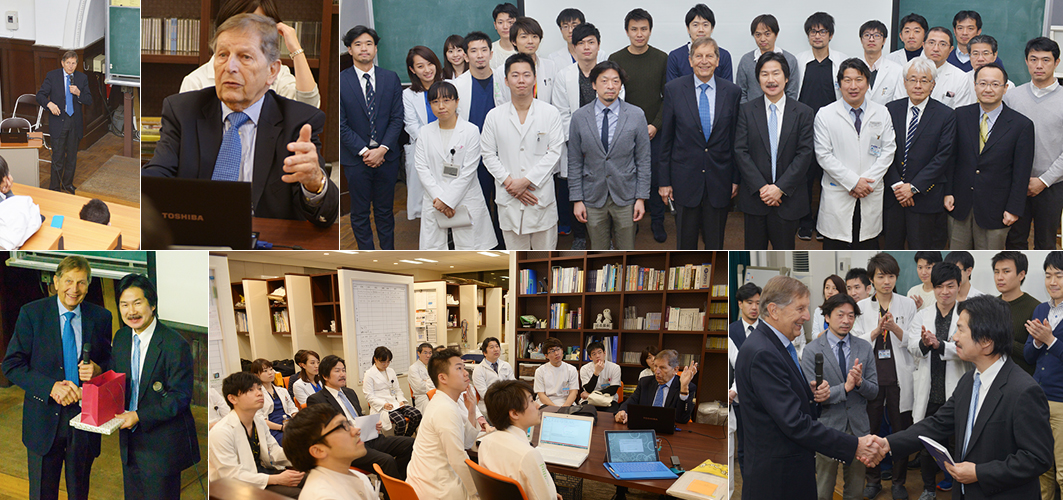 It is given a lecture in the Prof.Studer Jikei University School of Medicine